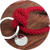 SAILOR<br>KNOT<br>KEYCHAIN