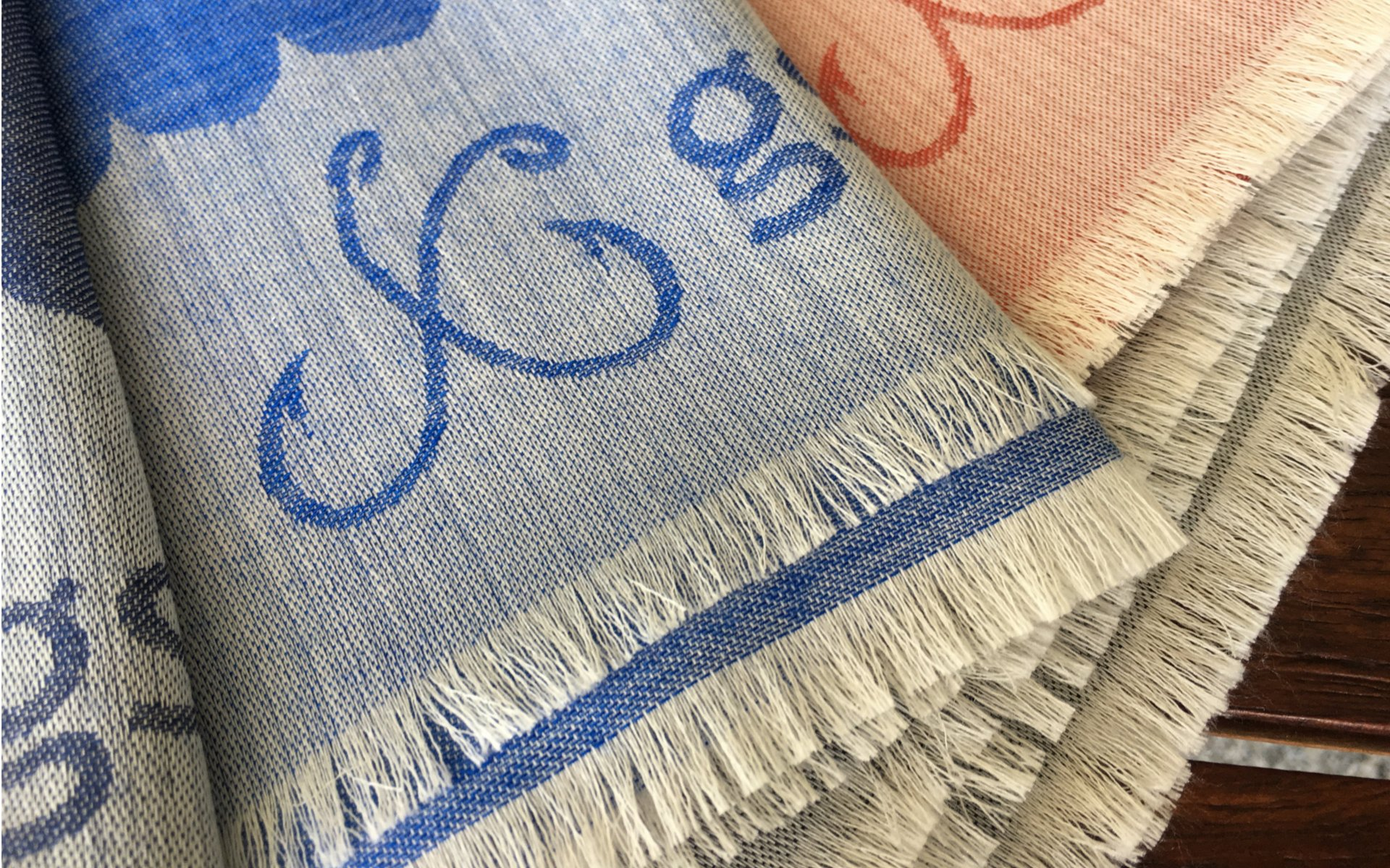 SCARF GS MONOGRAM
